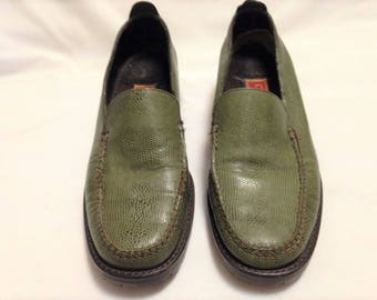 d33654aa6a7 Women s Cole Haan Country Loden Green Loafers