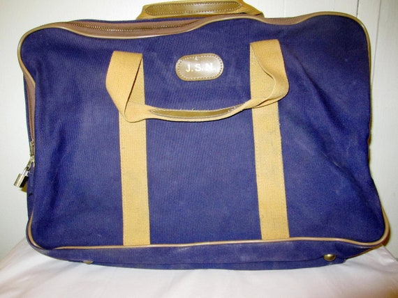1970's Wings Suitcase