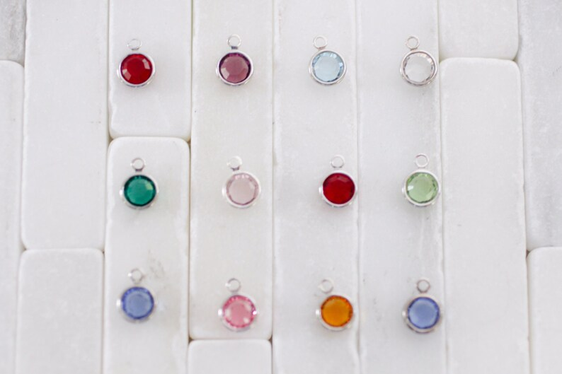 Girl Earrings Post Earrings Sterling Silver Studs Crystal Earrings Dangle Earrings Little Girl Earrings Girl Gift- Stud Earrings