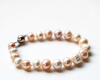 Heirloom Pearl Bracelet, one of a kind, 7 inches