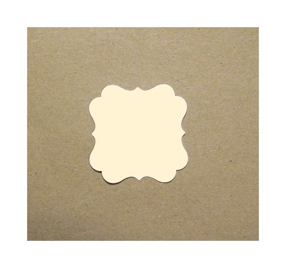 cardstock note card fancy square 2x2 inches etsy