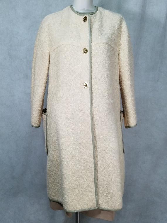 1960s Bonnie Cashin Coat and Dress Vintage 1960s D