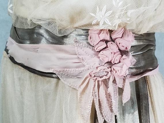 1920s Wedding Dress Vintage 1920s Dress Antique D… - image 6