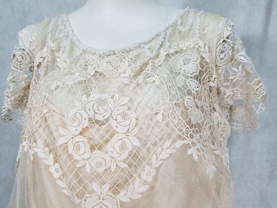 1920s Wedding Dress Vintage 1920s Dress Antique D… - image 2