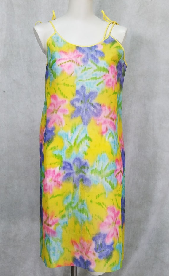 1960s Paper Dress Mint Condition Colorful Vintage
