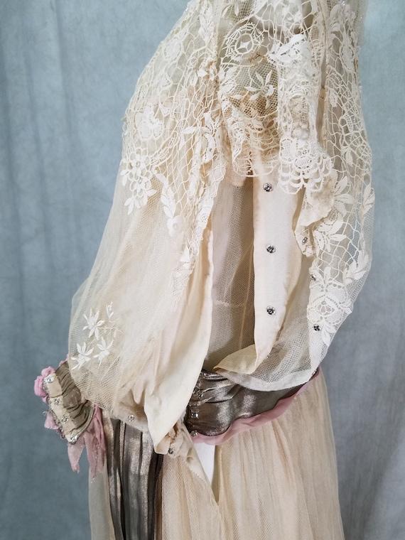 1920s Wedding Dress Vintage 1920s Dress Antique D… - image 9