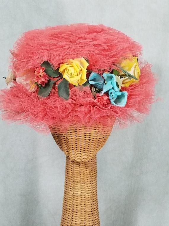 1960s Hat Margie Webb Laguna Beach Whimisical Vint
