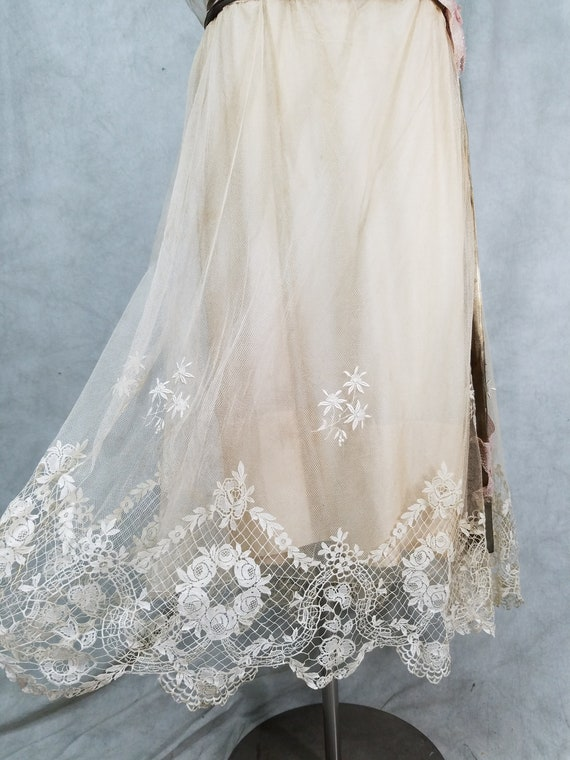 1920s Wedding Dress Vintage 1920s Dress Antique D… - image 4