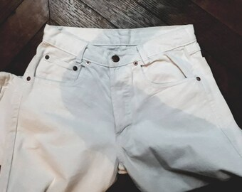 Vintage 80 white denim