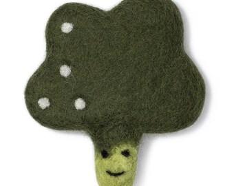 Broccoli Wool Toy