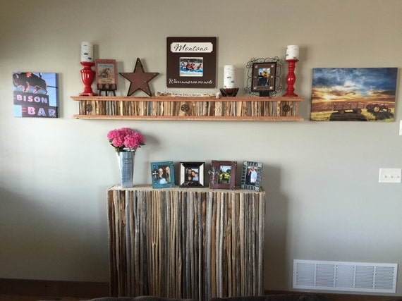 Saguaro Cactus Rib Wall Shelf