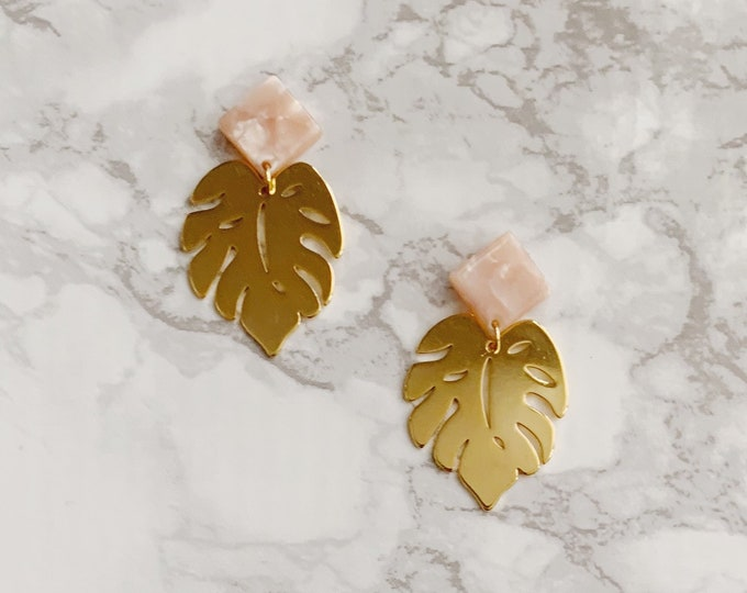 Baha Leaf Earrings