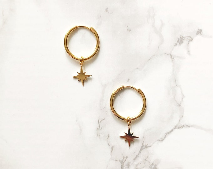 Halogen Earrings - Star