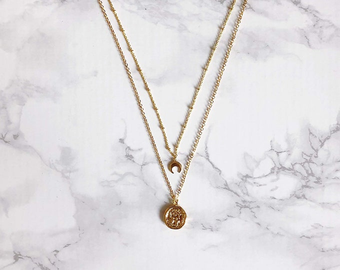 Midas Double Necklace