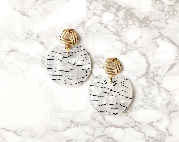 Apollo Acrylic Earrings