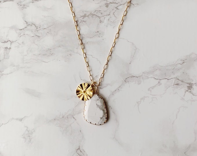 Matira Pendant Necklace