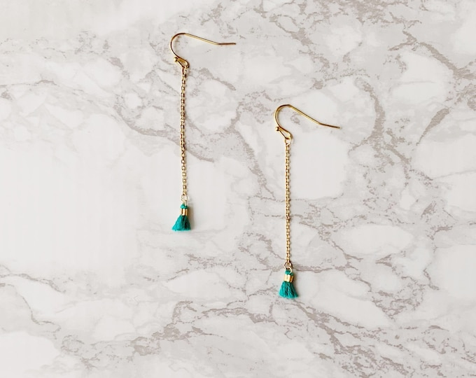 Cay Earrings - Turquoise