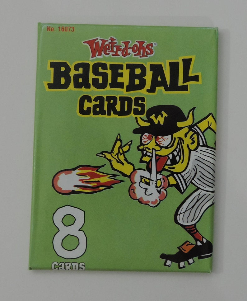 Hawk Weird Ohs Baseball Cards Unopened Wax Pack Fresh From The Box