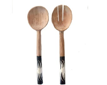 Serving cutlery / Salad servers