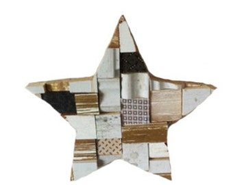 Star Blocks Multi Colour Medium