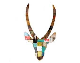 Springbok Blocks Multicolor Art Recycled Wood
