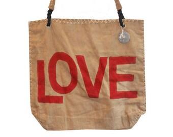Ali Lamu Shopper Love Red