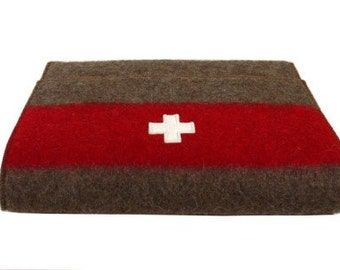WD237 Swiss Army Blanket Laptop Sleeve by Karlen Swiss