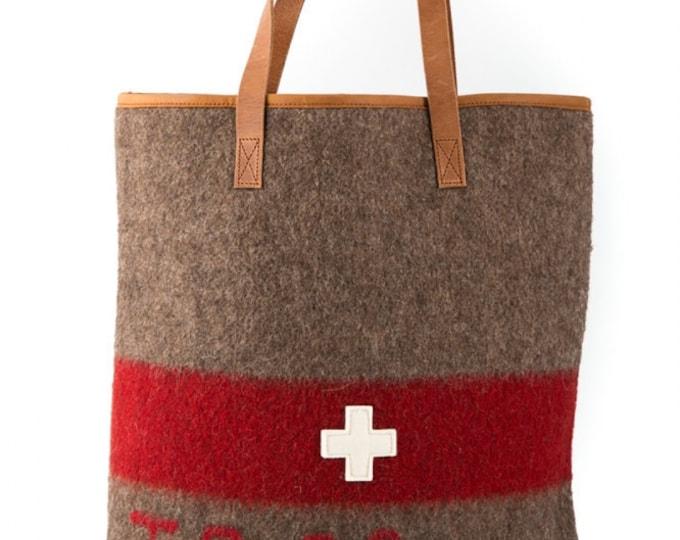 WD19 Swiss Army Blanket Shopper Bag by Karlen Swiss