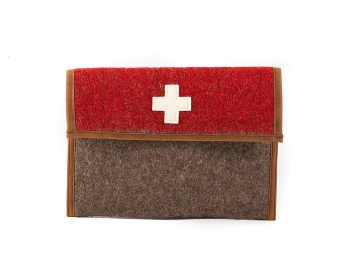 WD37 Swiss Army Blanket Ipad Sleeve by Karlen Swiss