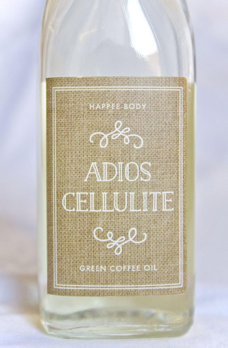 Adios Cellulite Green Coffee Oil image 0