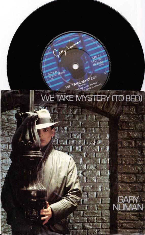 03ac3b74df7 GARY NUMAN We Take Mystery 1982 Uk Issue 7 45 rpm Vinyl