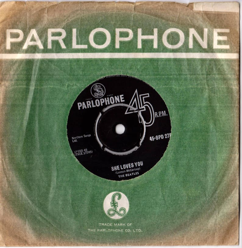BEATLES She Loves You 1963 South Africa Issue Rare 7