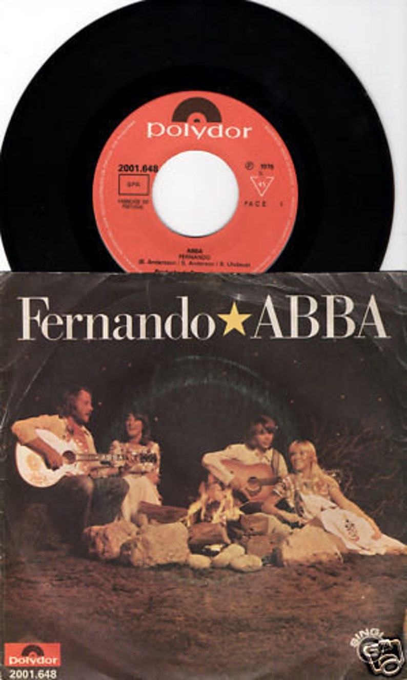 ABBA Fernando 1976 Portugal Issue Rare 7