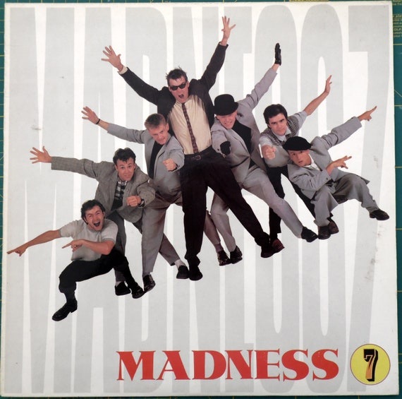 Madness Band 1 English Ska Band Two-Tone Pop New Wave Music Classic Poster Print