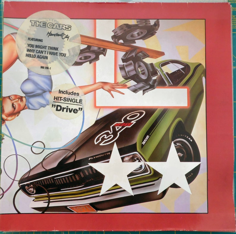THE CARS Heartbeat City 1984 German Issue Vinyl Lp 33 rpm Album Record New  Wave Pop Rock 80s Drive 960296-1