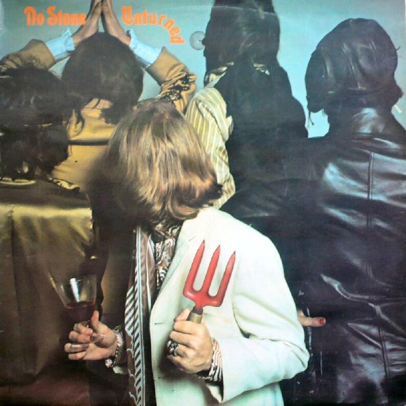 ROLLING STONES No Stone Unturned 1973 Uk Vinyl 33 rpm Lp Album Record music  Decca Boxed Logo Rock Pop 60s Blues jagger skl5173