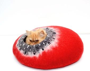 Cat Bed, Cat House, Cat furniture, Cat Cave, Chunky Cat Bed, Chunky Cat House, Chunky Bedding, Puppy Bed, Dog Bed, Dog Furniture,...