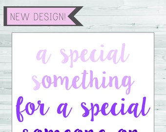 sweet - just because card - ombre card