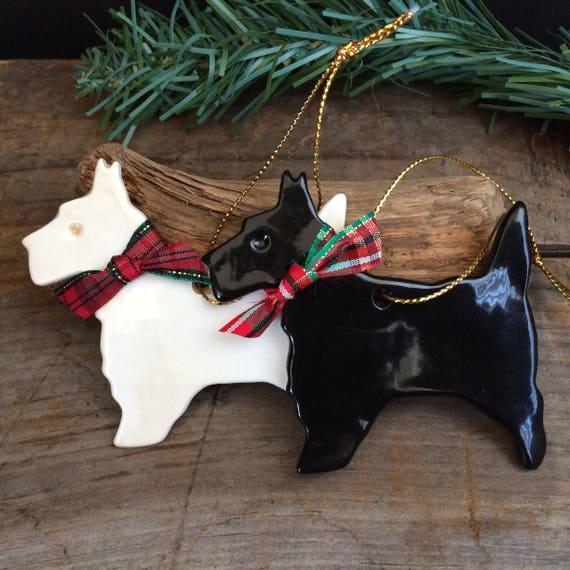image 0 - Scottie Dog Christmas Decorations