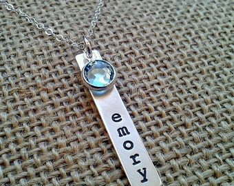 Mommy Necklace, Grandma Necklace, Mom Necklace, Personalized Mom Necklace, Grandma Necklace, Gift For Mom, Gift for Grandma, Kids Name Charm