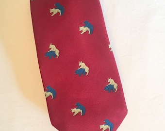 Stock exchange themed classic novelty NeckTie tie cravat