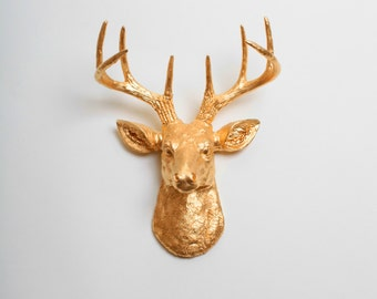 Faux Taxidermy Wall Mounts Deer To Moose By Whitefauxtaxidermy