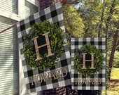 Personalized Flag, Welcome Garden Flags, Welcome House Flag, Farmhouse Garden Flags, Rustic Country Decor, Yard Decor, Outdoor Decor, Custom