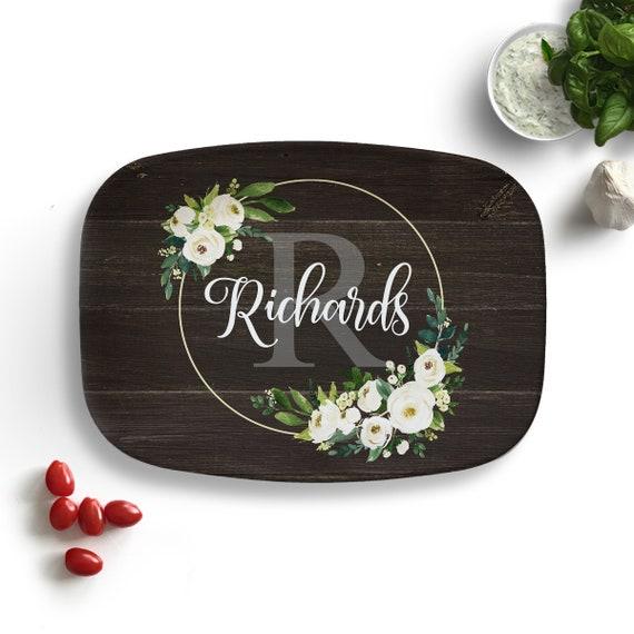 Personalized Platter Custom Serving Platter Wedding Gift Etsy