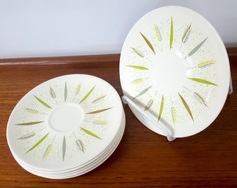 Set of 6 Knowles Festival F-5220 Saucer Plates