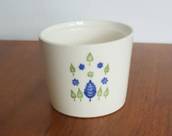 Mar-Crest Swiss Chalet Sugar Bowl