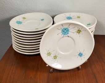 One Franciscan Starburst Saucer Plate