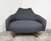 Alan White Furniture Co Lounge Chair (New Upholstery)