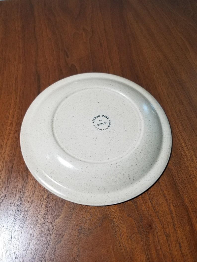 Poppytrail Metlox California Tempo Salad Plate