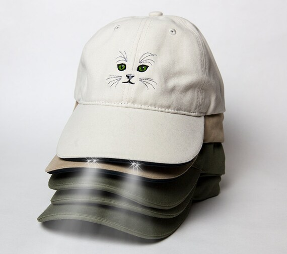 1f3e5726e4ce4 Crazy Cat Hat with LED lights Green Cat Eyes for Crazy Cat